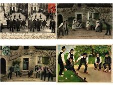 JEU DE BOULES, BOWLING SPORT, SPORTS 19 Vintage Postcards