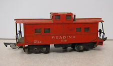 American Flyer Reading 630 Red Caboose, S Scale-For Parts or Restoration
