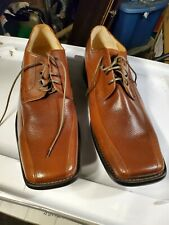 Zengara Mens Brown Leather Oxfords Shoes 13M