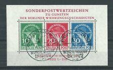 BERLIN 1949 BLOCK #1 USED GENUINE