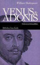 BUCH - Venus & Adonis / Tarquin & Lukrezia - Zwei Gedichte - William Shakespeare