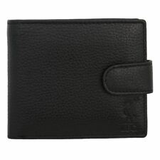 Liverpool FC LFC Black Leather Fastener Wallet NWT Official