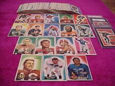 Bowman Original Set Vintage (Pre-1970) Football Cards