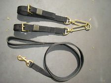 "CO9 Webbing Dog Collar Couples & Lead Set 1"" Terrier/Patterdale/Russell Working"