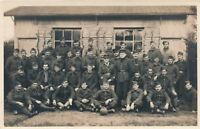Many Soldiers Real Photo Postcard rppc - 1928