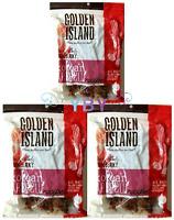 3 Packs Golden Island Korean BBQ Pork Jerky 14.5 OZ Each Pack