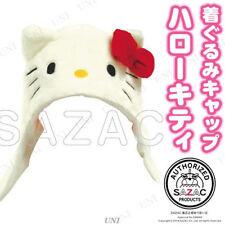 Hello Kitty Cap Hat Costume Cosplay Party Kigurumi SAZAC Japan Kawaii Free Ship