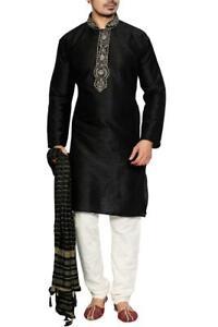 MKP9005 Men's Kurta Pyjama Churidar Salwar Kameez Indian Salwar Bollywood Outfit