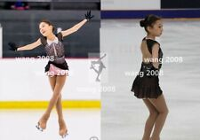 Competition Skating Wear Quick Dry Anatomic Design Handmade Classic black