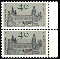 845 postfrisch Paar senkrecht Rand rechts BRD Bund Deutschland Briefmarke 1975
