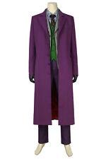 Batman The Dark Knight The Joker Suit Full Set Cosplay Costume Halloween