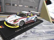 Porsche 911 991 gt3 R Mathey 24 H Nurburgring 2017 Krauth #59 Müller Spark 1:43