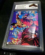 X-MEN Authentic MOVIE Memorabilia ROGUE Worn JEANS W/ Encased Card #24 CERTIFIED