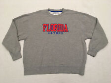 MAJESTIC SECTION 101 Men's NCAA FL Gators Embroidered LS Sweatshirt, Size. 2XL