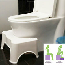 Toilet Squatty Stool Natural Squat Potty Step Aid Constipation Piles Relief UK