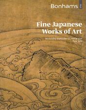 BONHAMS JAPANESE ART Prints Netsuke Inro Pipe Cases Ivory Enamels Bronzes Cat 12