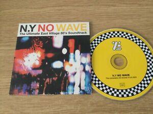 Promotional cd album - Various  Artists – N.Y. No Wave