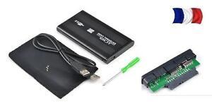 Boîtier Disque Dur Externe SATA 2.5'' USB 2.0 e Support DD case boite boitier