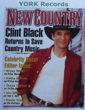 NEW COUNTRY MAGAZINE - August 1997 - Clint Black / Bryan White / Kathy Mattea
