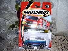 MATCHBOX VW TRANSPORTER  HIGHWAY HEROES 2000 MIP