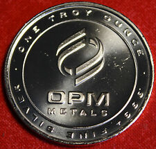 OPM DESIGN 1 OZ .999% SILVER ROUND BULLION BU COLLECTOR COIN GIFT
