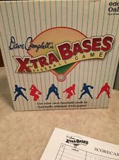 X-tra Bases Baseball Game 1992 By Dave Campbell - Vintage Great Game