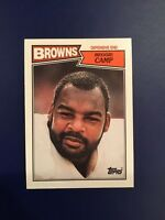 1987 Topps #88 REGGIE CAMP Cleveland Browns Qty Avail NM-MINT
