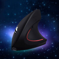 Rechargable Wireless Ergonomic Vertical Optical Mouse Mice For Computer PC