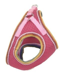 """NEW Li'l Pals Petite Small Hot Pink Step-In Dog Harness Chest 10-12"""" Neck 8-10"""""""