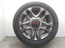 """2013-2015 MK2 FIAT 500 SPORT 15"""" ALLOY WHEEL +Tyre 51940828"""
