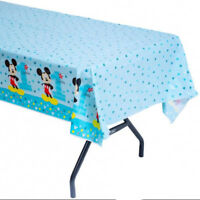BABY MICKEY FUN TO BE ONE 1ST BIRTHDAY PLASTIC TABLECOVER TABLECLOTH