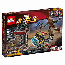 76020 KNOWHERE ESCAPE MISSION lego legos set rocket groot gotg NEW nebula marvel