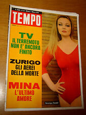 TEMPO 1970/10=VERONIQUE VENDELL=MINA=PAOLO POLI=GIULIO PAOLINI=PETER KNAPP MODA=