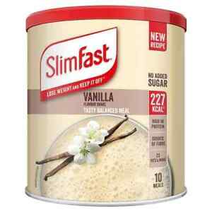 SlimFast High Protein Meal Replacement Powder Shake Vanilla 365g