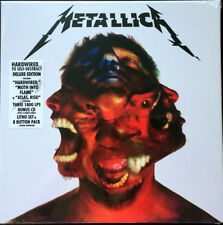 Metallica ‎– Hardwired To Self Destruct Lithos Cd / Coloured 3x Vinyl Boxset NEW