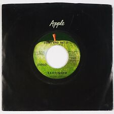 BADFINGER: Come and Get It / Rock of All Ages APPLE 1815 Beatles 45 NM- Scranton