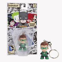 Green Lantern Vinyl Figure Kid Robot DC Universe Keychain NEW MOC