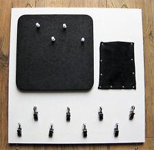 """Pinnwand Memoboard Schlüsselbrett """"Black & White"""""""