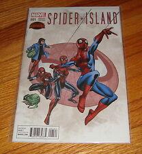 Spider-Island #1 Ron Frenz Variant Edition 1st Print Spider-Man Secret Wars
