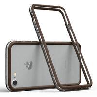 Bumper für Apple iPhone 8 / 7 Case Wallet Schutz Hülle Cover Braun