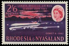 RHODESIA and NYASALAND 182 (SG42) - DH-Comet at Salisbury Airport (pf94844)