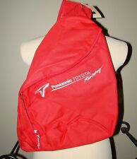 RARE RED PANASONIC TOYOTA F1 FORMULA 1 RACING DAY PACK BAG BACKPACK NWT NEW
