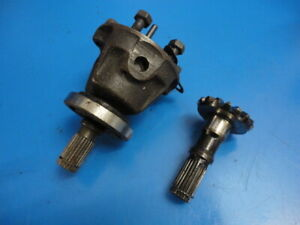 CLASSIC MINI A+ DIFFERENTIAL DIFF CWP HOUSING AND OUTPUT SHAFT GEARS POT JOINT