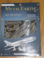 Jet Airplane Metal Earth 3D Laser Cut Metal Model Fascinations MMS004