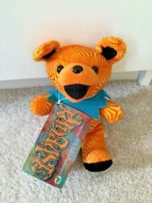 RARE Vintage 90s Grateful Dead Liquid Blue Orange Ashbury Bean Bear