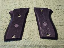 Custom Grips for Taurus PT58, PT92 compact  Non-Decocker Checkered Black