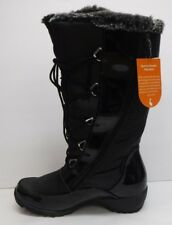 Sporto Size 7 Black Waterproof Faux Fur Boots New Womens Shoes