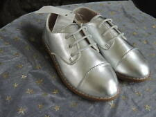 Toddler Girls NWT Size 5 Rose Gold Metallic Lace-up Oxfords Shoes GAP Baby