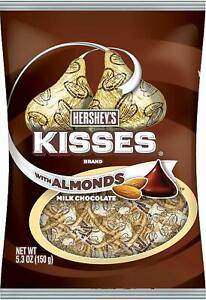 Hershey's Kisses with Almond 150g Bag Sweet American Candy