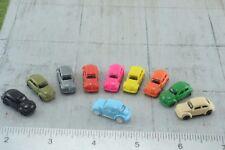 10 Volkswagen Beetle Cars 1:160  N Scale (N67)